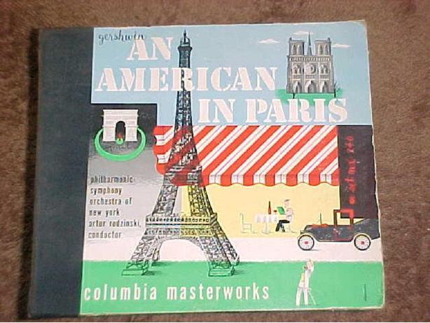 AN AMERICAN IN PARIS VINYL 78 LP