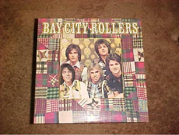 BAY CITY ROLLERS VINYL LP