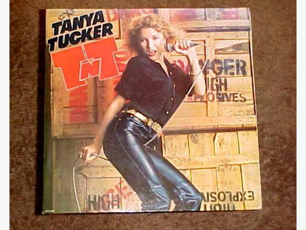 TANYA TUCKER TNT VINYL LP