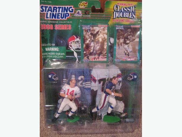 1998 Starting Line up Classic Doubles NFL two pack players