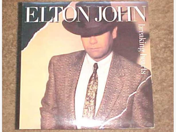 ELTON JOHN VINYL ALBUM