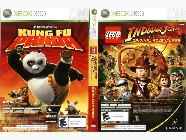 Lego Indiana Jones and Kung Fu Panda (Xbox 360)