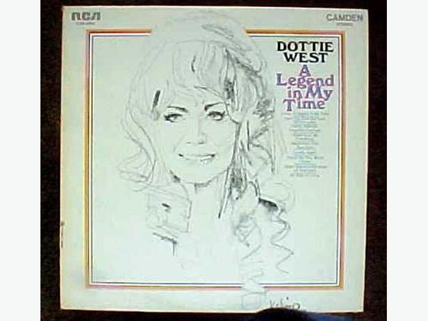 DOTTIE WEST VINYL ALBUM