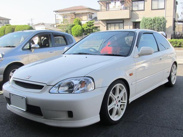 1999 honda import a rhd jdm civic type r ek9 from japan to