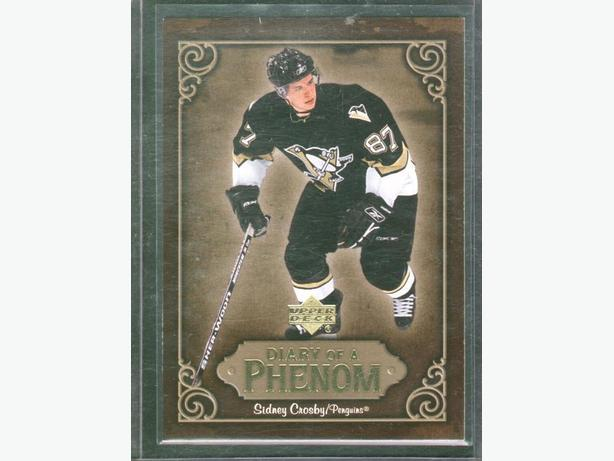 2005/06 Upper Deck Sidney Crosby Diary of a Phenom DP21 Penguins