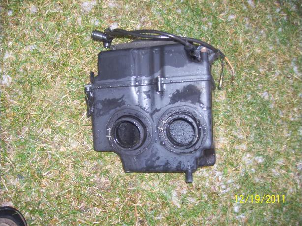 Yamaha VMax 600 airbox silencer intake 1994-1996