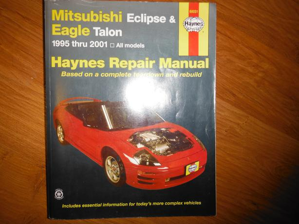 mitsubishi eclipse 1994 1995 workshop service manual pdf