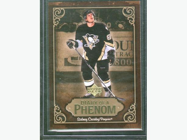 2005/06 Upper Deck Sidney Crosby Diary of a Phenom #DP22 Penguins