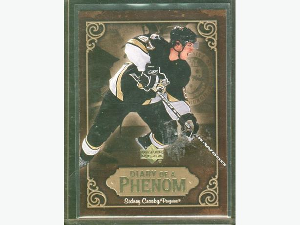 2005/06 Upper Deck Sidney Crosby Diary of a Phenom #DP25 Penguins