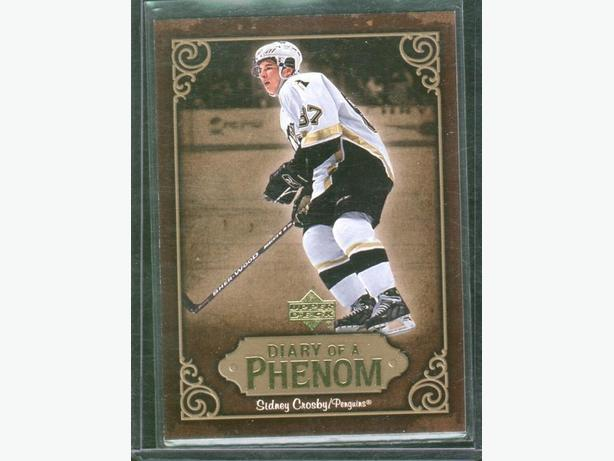 2005/06 Upper Deck Sidney Crosby Diary of a Phenom #DP27 Penguins
