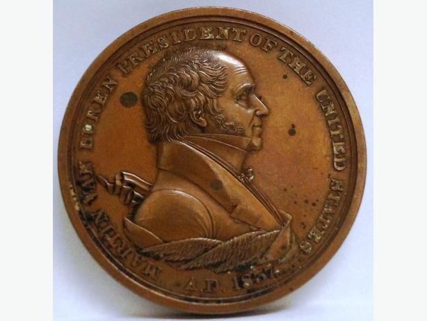 PRICE REDUCED- INDIAN PEACE AND FRIENDSHIP MEDAL  XIX century