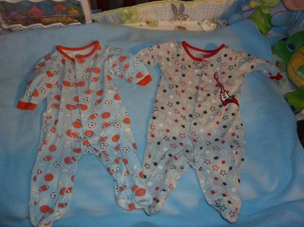 2 Sleepers - Size 3-6 Months