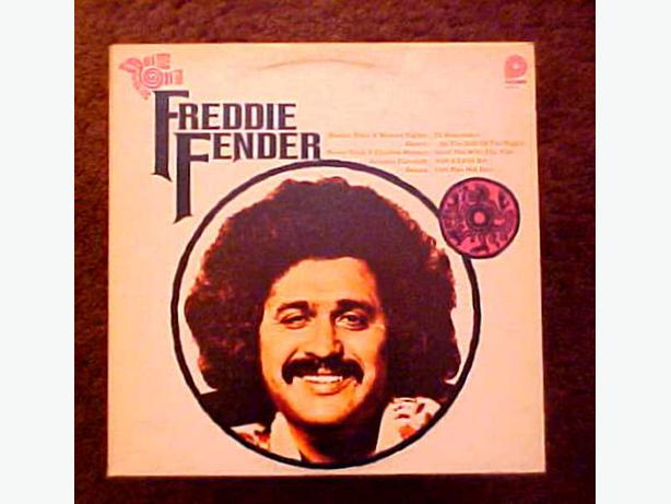 FREDDIE FENDER WASTED DAYS AND NIGHTS VINYL LP