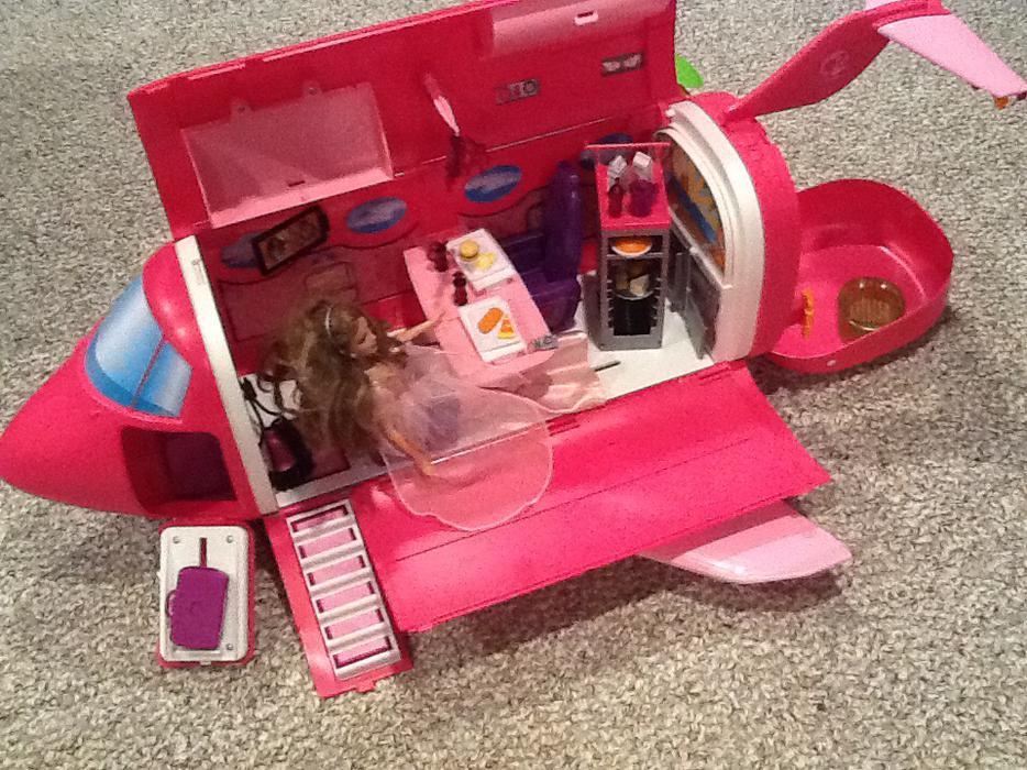 Jet Privato Barbie : Reduced barbie jet plane north regina
