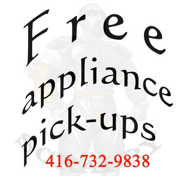 Free Pick Up Scrap Metal Appliance Steel Tv S