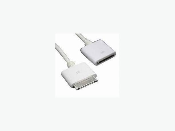 New IPhone IPod 30 pin Extension Cable 100CM