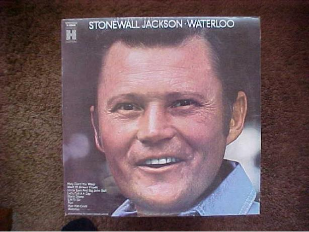 STONEWALL JACKSON WATERLOO VINYL LP