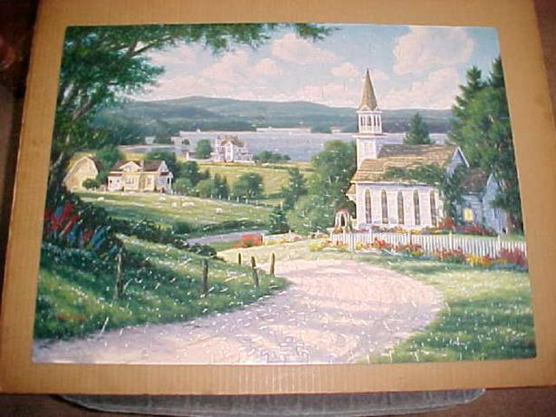 A SUNNY ROAD HOME JIGSAW PUZZLE