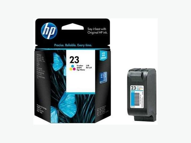 New sealed Factory HP 23 Tricolour Ink Cartridge
