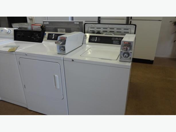 Refurbished Coin-OP Washers and Dryers