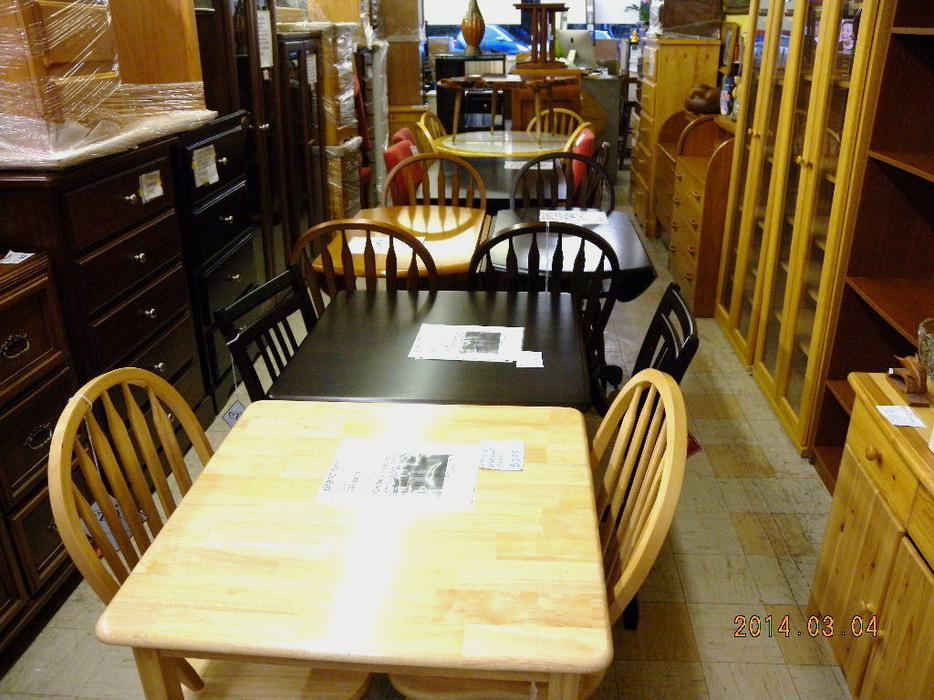 All solid wood dining tables are on sale now loi 39 s used for Consignment furniture clearwater
