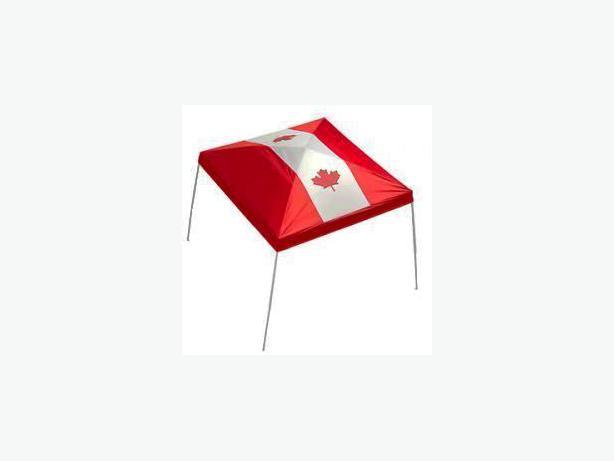 Brand New Ozark Trail Canada Flag Gazebo Top 9 X Not