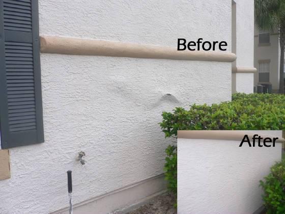 Stucco repairs new construction victoria city victoria mobile for How to fix stucco exterior walls