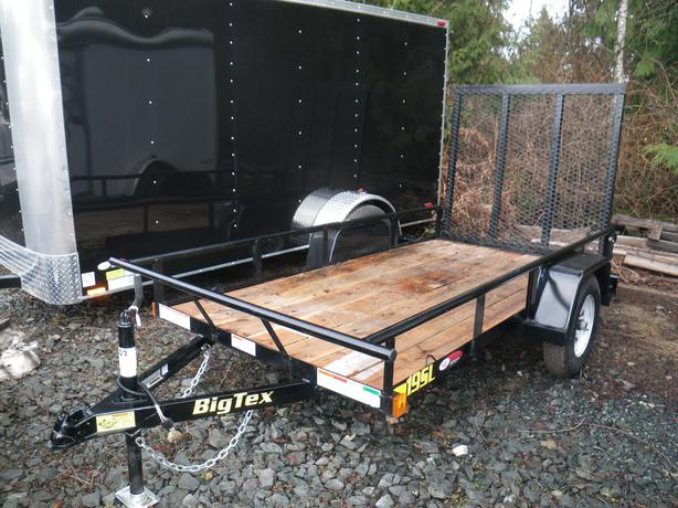 Big Tex 19SL-9 quad trailer st#BT855