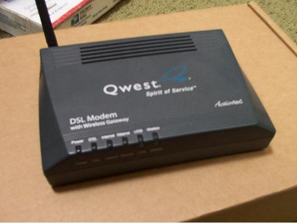 Actiontec V1000H DSL Modem with Wireless Gateway