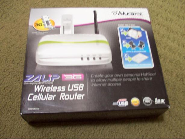 Aluratek Wireless USB Cellular Router