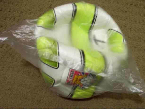 New Challenger Soccer Ball Size 4 in bag.