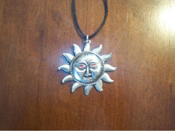 Sun necklace from Mexico