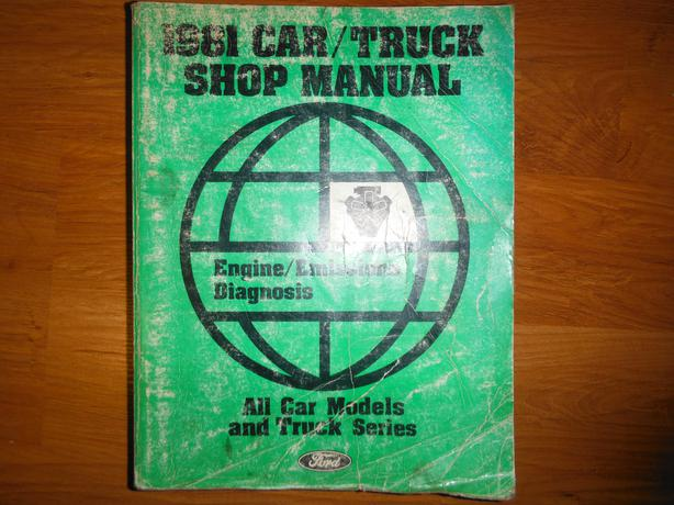 1981 car truck shop manual by ford motor company central for West motor company kingston