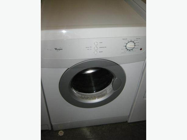 yr old whirlpool apartment size dryer glass window stainless tub