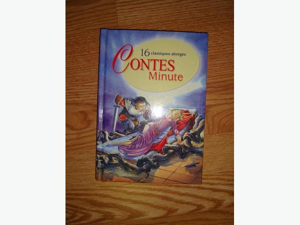 Brand New Hardcover French Conte Minute Book - Excellent Condition! $2