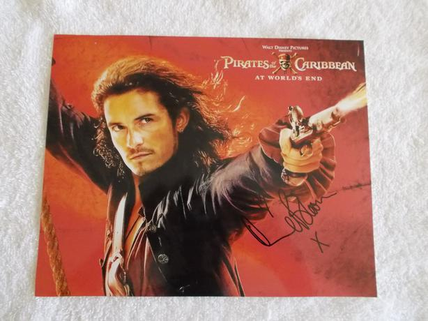 Orlando Bloom Signed 8x10 Photo