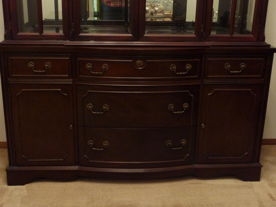 Mahogany Dining Room Set By Knechtel South Regina