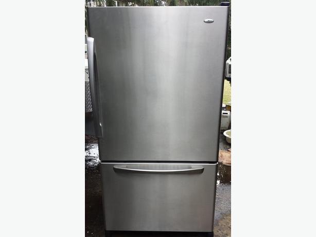 how to clean kitchen aid fridge