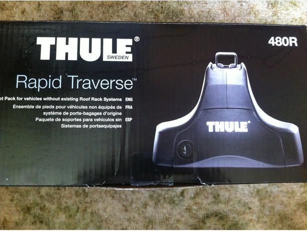 Thule Rapid Traverse Foot Pack Fit Kit 1597 Jetta