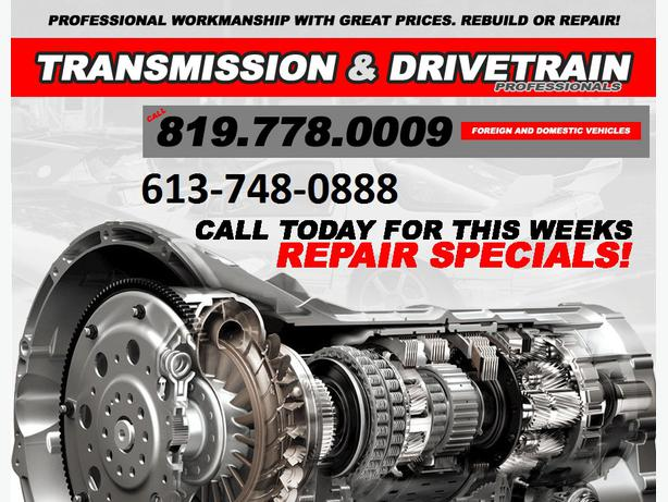 TRANSMISSION AUTOMATIC MANUAL & CLUTCHES