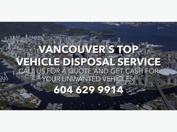 Cash for Old Used Cars Surrey, Vancouver 604 629 9914