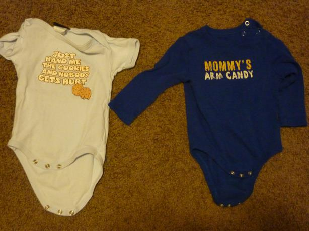 Onesies - Size 3-6 & 6-12 Months