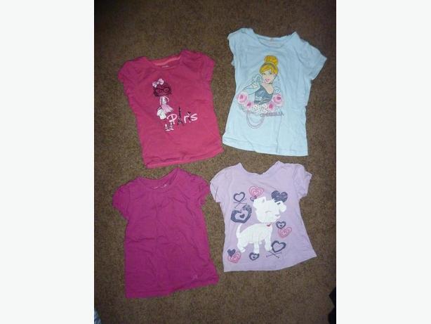 4 Shirts - Size 5