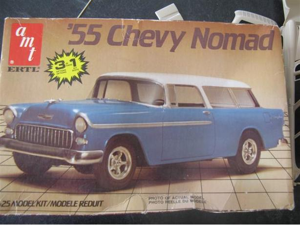 55 3 in 1 CHEVY NOMAD with El Camino option