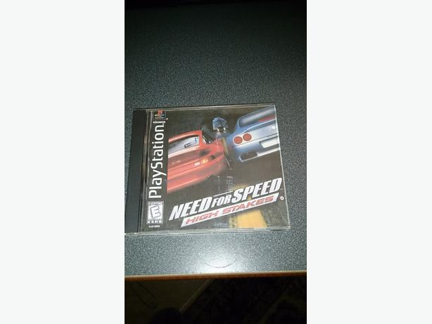 Need For Speed High Stakes (PS1)