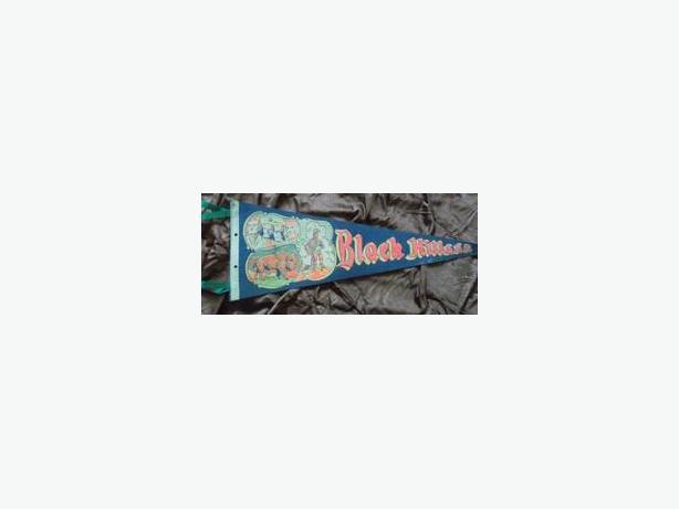 1960's Black Hills pennant