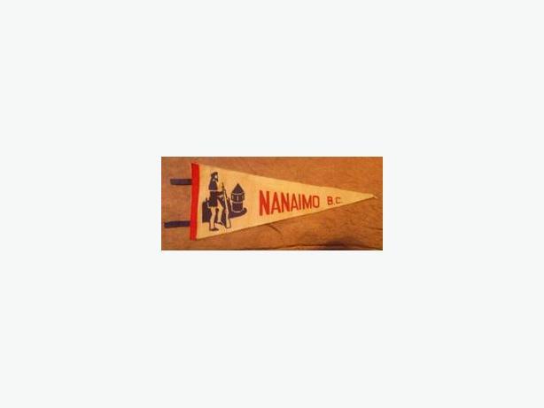 1950's-60's Nanaimo, B.C. pennant