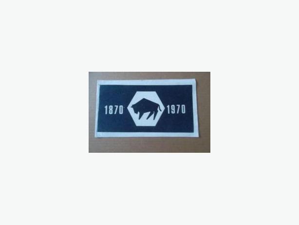 1970 MANITOBA CENTENNIAL FELT FLAG