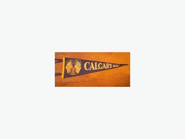 1950's Calgary pennant