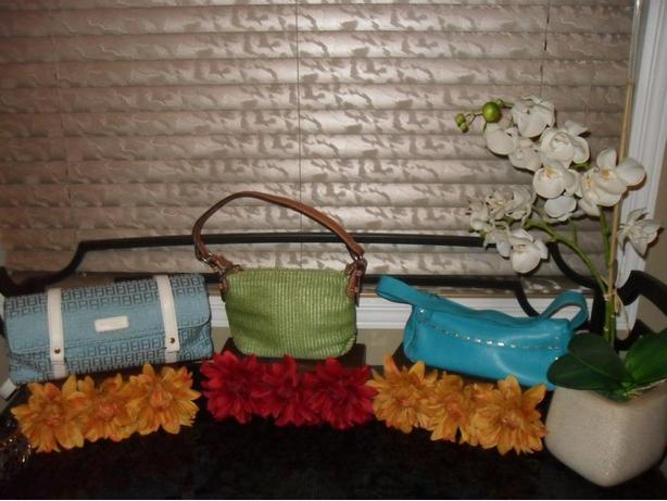Brand Name Purses - Luca Ferri, Fossil and XOXO